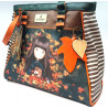 BORSA CON MANICI AUTUMN WINGS - GORJUSS