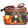 BORSA CROSS BODY AUTUMN LEAVES - GORJUSS