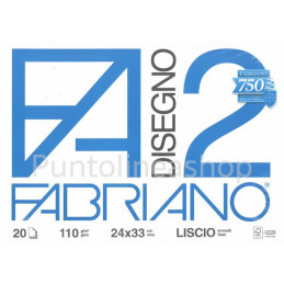 ALBUM FABRIANO FA2 24x33 LISCIO (PINZATO)